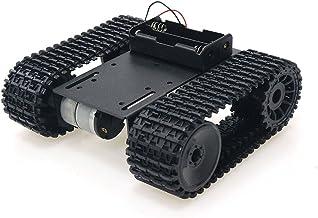 SZDoit Professional Smart Tracked Car Chassis, Remote Control Robot Tank Platform for Arduino / Raspberry pi / NodeMCU wit...