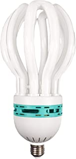 ALZO 85W Full Spectrum CFL Lotus Flower Light Bulb 5600K, 5000 Lumens, 120V