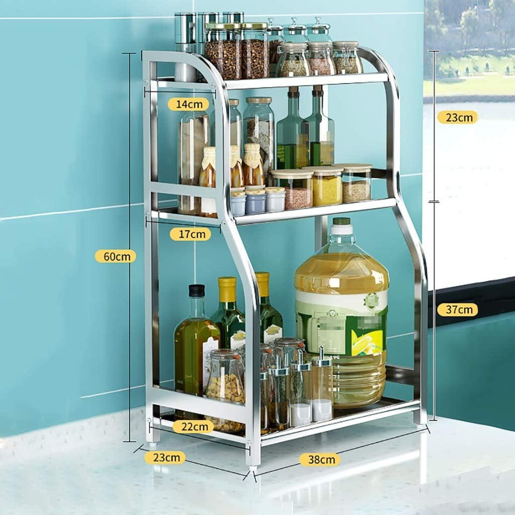 Yuyandejia unisex Spice Rack Kitchen Wall-Mounted Shelves New Free Shipping Storage
