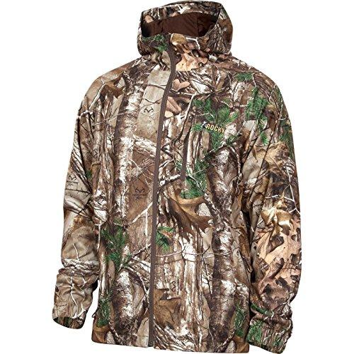 Rocky Men's Silent Hunter Rain Jacket, Camouflage, Medium