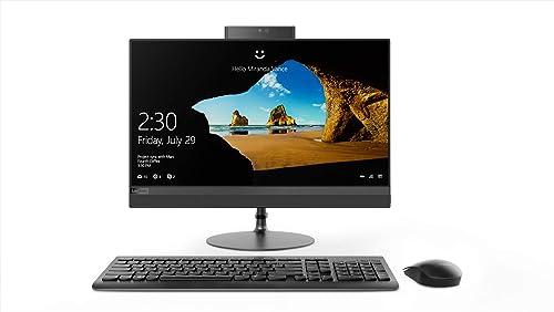 Lenovo Ideacenter 520 F0D500BUIN 21.5-inch All-in-One Desktop (7th Gen Core-7020U/4GB/1TB/Windows 10 Home/Integrated ...