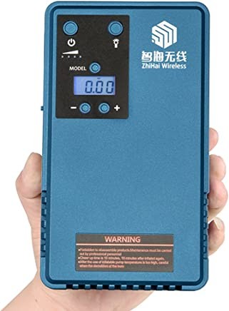 Air Pump Compressor with Tyre Car Jump Starter &mobile power support LCD screen tyre Pressure gauger&Outdoor