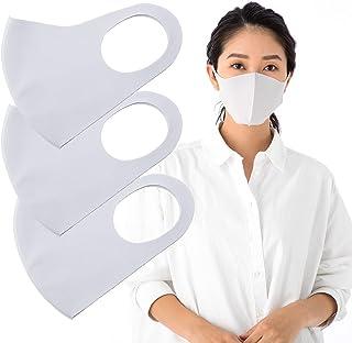 SHINPUR 冷感マスク 洗える 夏用 接触冷感 カラー スポーツ 大人用 立体 快適 (S SM M L 4サイズ)