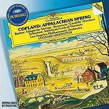 Copland: Appalachian Spring / W. H. Schuman: American Festival Overture / Barber: Adagio For Strings, Op.11 / Bernstein: O...