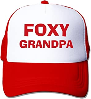 MAHN Foxy Grandpa Baseball Cap Black One Szie With Unisex