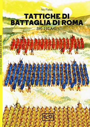 Tattiche di battaglia di Roma 390-110 a.C.