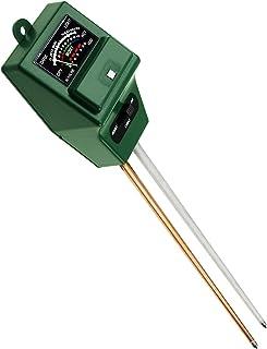 Mumoo Bear Botrong 3 in1 PH Tester Soil Water Moisture Light Test Meter Kit for Garden Plant Flower 2PCS A A
