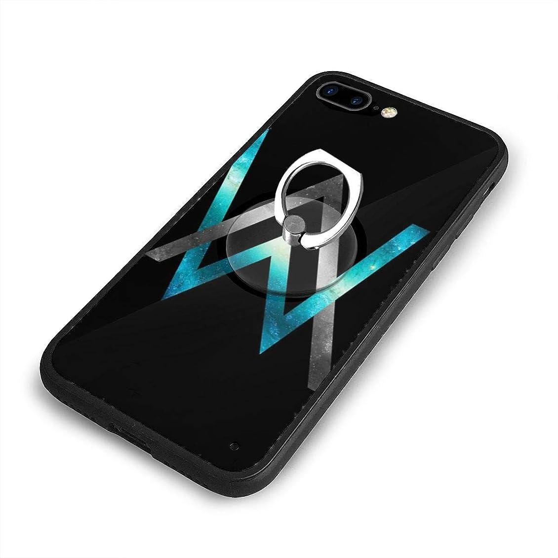 吸う降下系譜アレンウォーカーiPhone 7/8 Plusケースリングブラケット 携帯カバー 創意デザイン軽量 傷つけ防止 360°回転ブラケット 携帯ケース PC 衝撃防止 全面保護