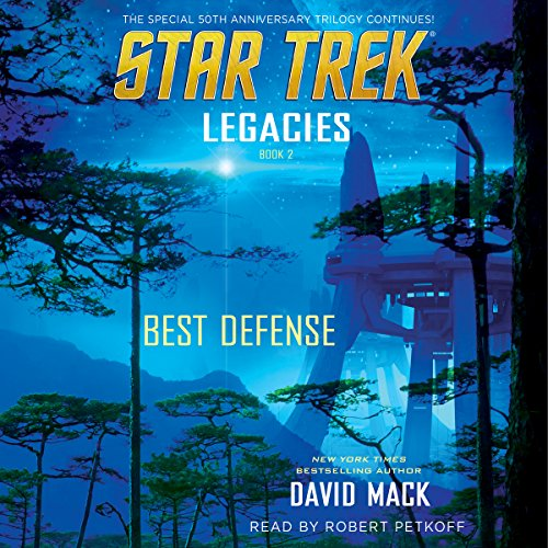 Best Defense     Star Trek: Legacies, Book 2              By:                                                                                                                                 David Mack                               Narrated by:                                                                                                                                 Robert Petkoff                      Length: 9 hrs and 54 mins     504 ratings     Overall 4.4