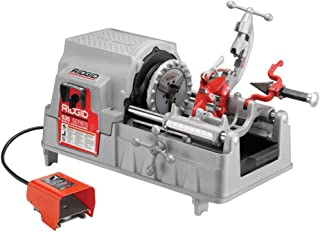 RIDGID 84097 Model 535 Pipe Threading Machine, 36 RPM Pipe Threading Machine with Hammer Chuck, 1/2-Inch to 2-Inch Pipe Dies and NPT Threading Die Head