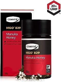 Comvita Certified UMF 20+ (MGO 829+) Raw Manuka Honey I New Zealand's #1 Manuka Brand I Authentic, Wild, Unpasteurized, Non-GMO Superfood I Rare, Ultra Premium Grade I 8.8 oz