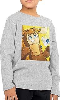 DoerKain Moosecraft Merch Children's Long Sleeve Funny T-Shirt