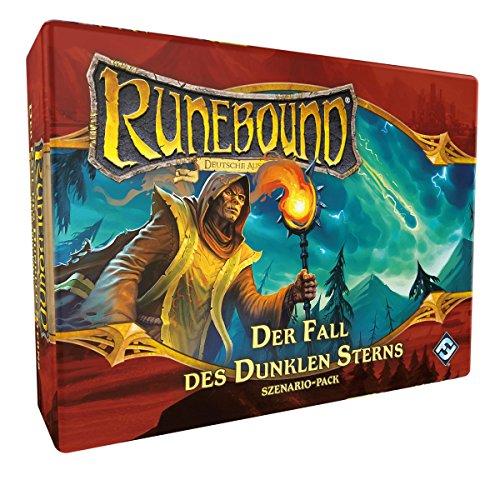 Fantasy Flight Games FFGD0144 Runebound-Der Fall des Dunklen Sterns