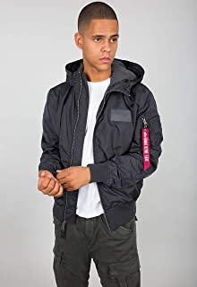 ALPHA INDUSTRIES MA-1 LW Hooded Bomber Jacket