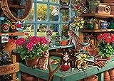 WAPAG Puzzle 1000 Piezas, Rompecabezas de Madera de Piezas Grandes para Adultos, Ancianos, Niños