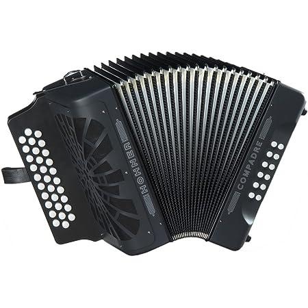 Hohner COFB Compadre 3-Row Diatonic Accordion Key FBbEb