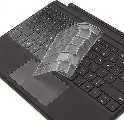 DolDer Surface Pro4 Surface Pro 2017 QWERTZ Tastaturschutz Hauchd nner Tastatur Schutzfolie Cover Haut Transparent Schätzpreis : 7,90 €