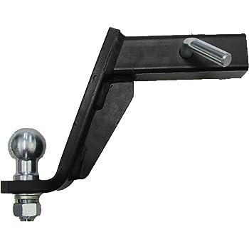 Steinhof Anh/ängerkupplung Adapter f/ür US-Fahrzeuge 50x50mm Niveauregulierung