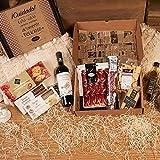 Lote Gourmet - Vino Tinto Joven, Aceite Virgen Extra, Sobre Jamón Reserva,...