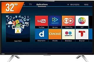 TV 32 Polegadas LED Smart WIFI HD USB HDMI - 32L2600, Semp Toshiba