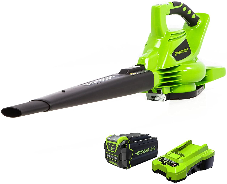 Greenworks 40V 185 MPH Brushless Cordless Blower Vacuum $134.77 Coupon
