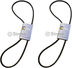 2 Pack OEM Spec Cogged Pump Belt Fits Scag 483164 SMZC-36 SMZC-42 SZC42 Z-Cat