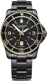 Victorinox Fieldforce Classic Chrono, Black dial, Bracelet