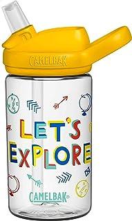 Eddy+ Kids BPA-Free Water Bottle with Straw, 14oz (2282103040) Update Version (14-Oz)