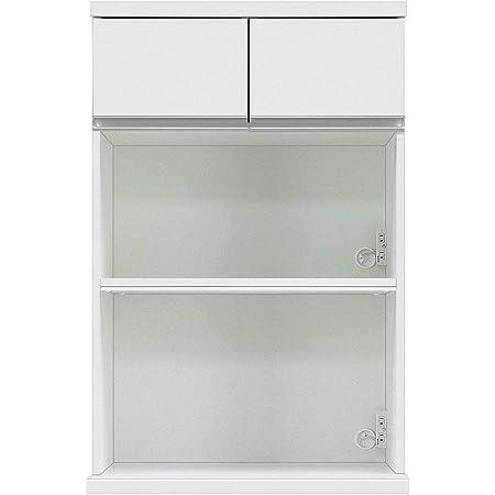 共和産業(Kyowa-sangyo) 食器棚 ホワイト 【幅75×高さ115.5cm】