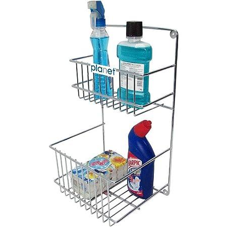 Planet Heavy Stainless Steel Detergent Holder - Bathroom Rack - Multipurpose Rack - Big