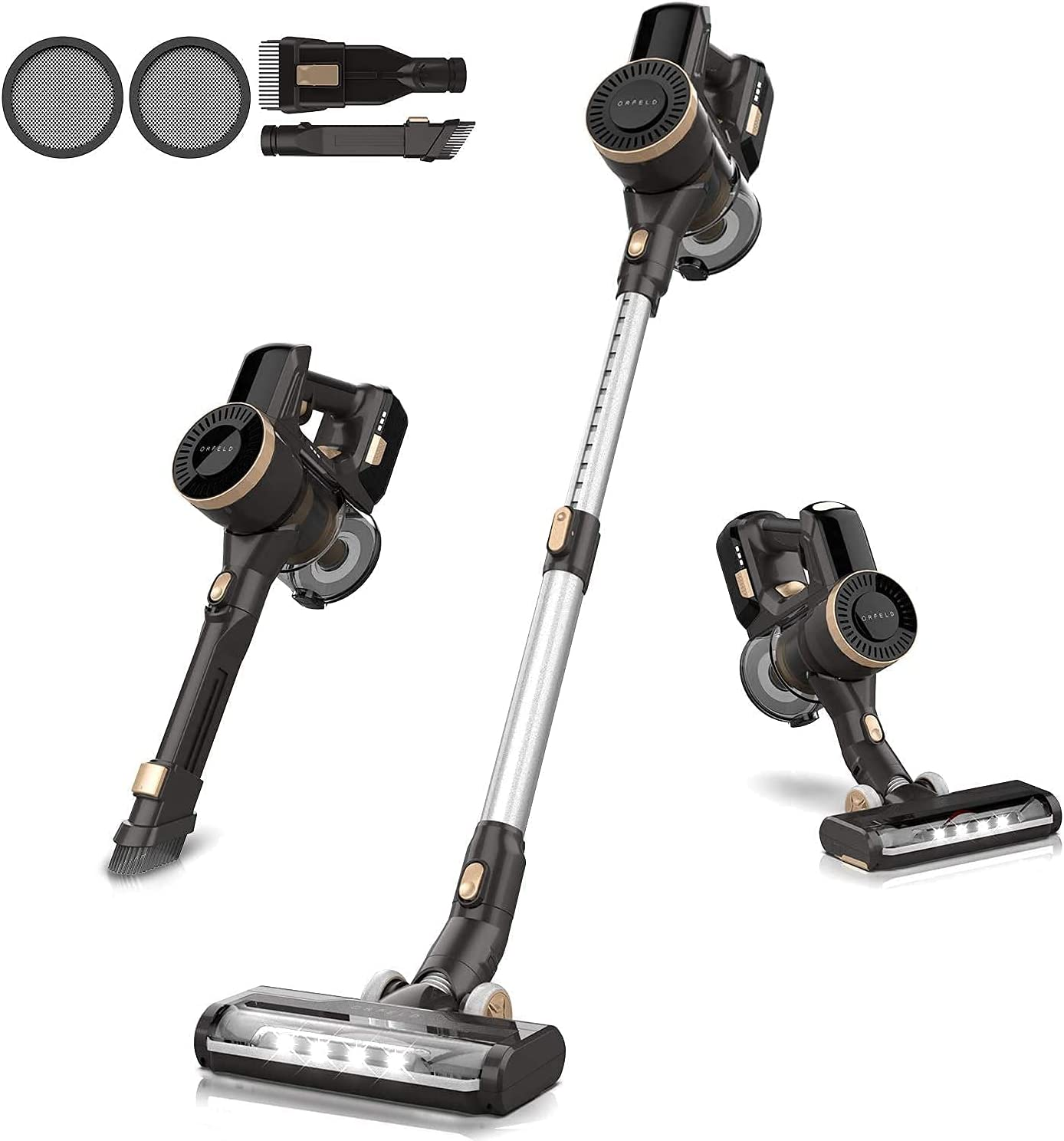 ORFELD Cordless Vacuum Cleaner 22000Pa Suction mins Max 41% OFF Mail order cheap 45 Powerful