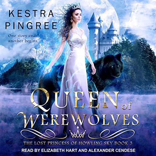 Queen of Werewolves audiobook cover art