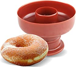 Donut Moules Donut Cuisson Casseroles Bricolage Cuisson Beignet Moule Donut Desserts Cutter Maker pour Perfect Shaped Donu...