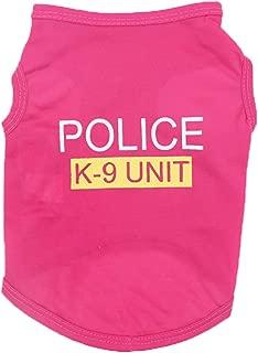 Farjing Pet Clothing,Unisex Pet Clothes Puppy Dog Cat Vest T Shirt Apparel