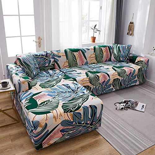 UTDFEOPSG Funda elástica para sofá Fundas de sofá elásticas universales de 3 plazas para Sala de Estar, Funda de sofá Antideslizante para Toallas Funda elástica de sofá elástico Funda de 75-91 Inch