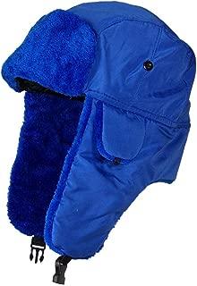 blue aviator hat