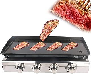 Plancha 2/3/4 Brûleurs Grillades À Gaz Steak Beaf Friture GPG GAZ PLANCHA PLANCHA Plaque DE CUISSION en Planche TEPYAKI Ou...