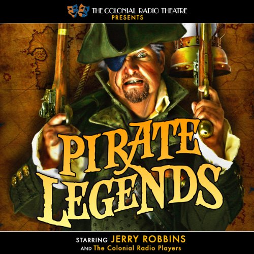Pirate Legends audiobook cover art