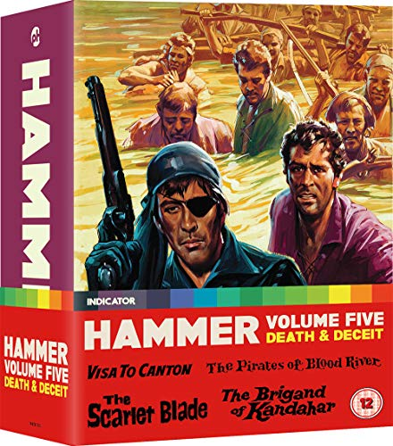 Hammer Volume Five: Death & Deceit (Limited Edition) [Blu-ray] [2020]