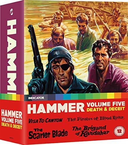Hammer Films Five: Passport To Adventure [Edizione: Regno Unito] [Blu-ray]