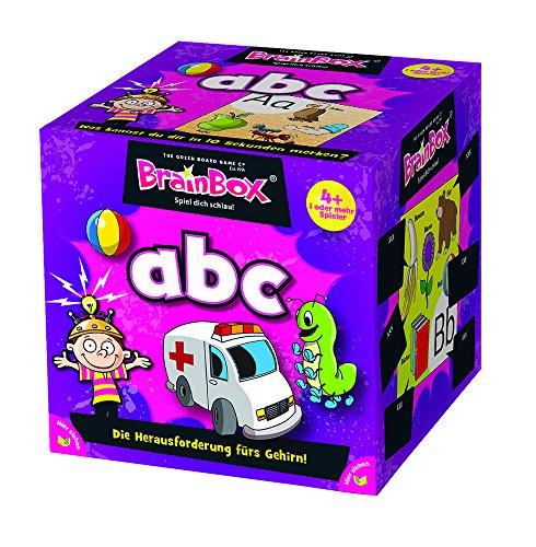 Brain Box 2094920 94920 Mein erstes ABC, Lernspiel, Quizspiel für Kinder ab 4 Jahren