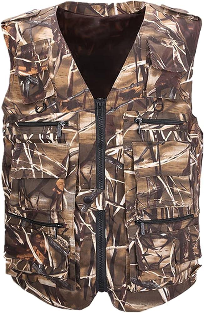 Fishing Vest OFFer Men's NEW before selling Sleeveless Field Waistcoat Many Outdoors