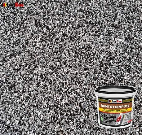 Buntsteinputz Mosaikputz BP30 (schwarz, grau, weiss) 5kg Absolute ProfiQualität