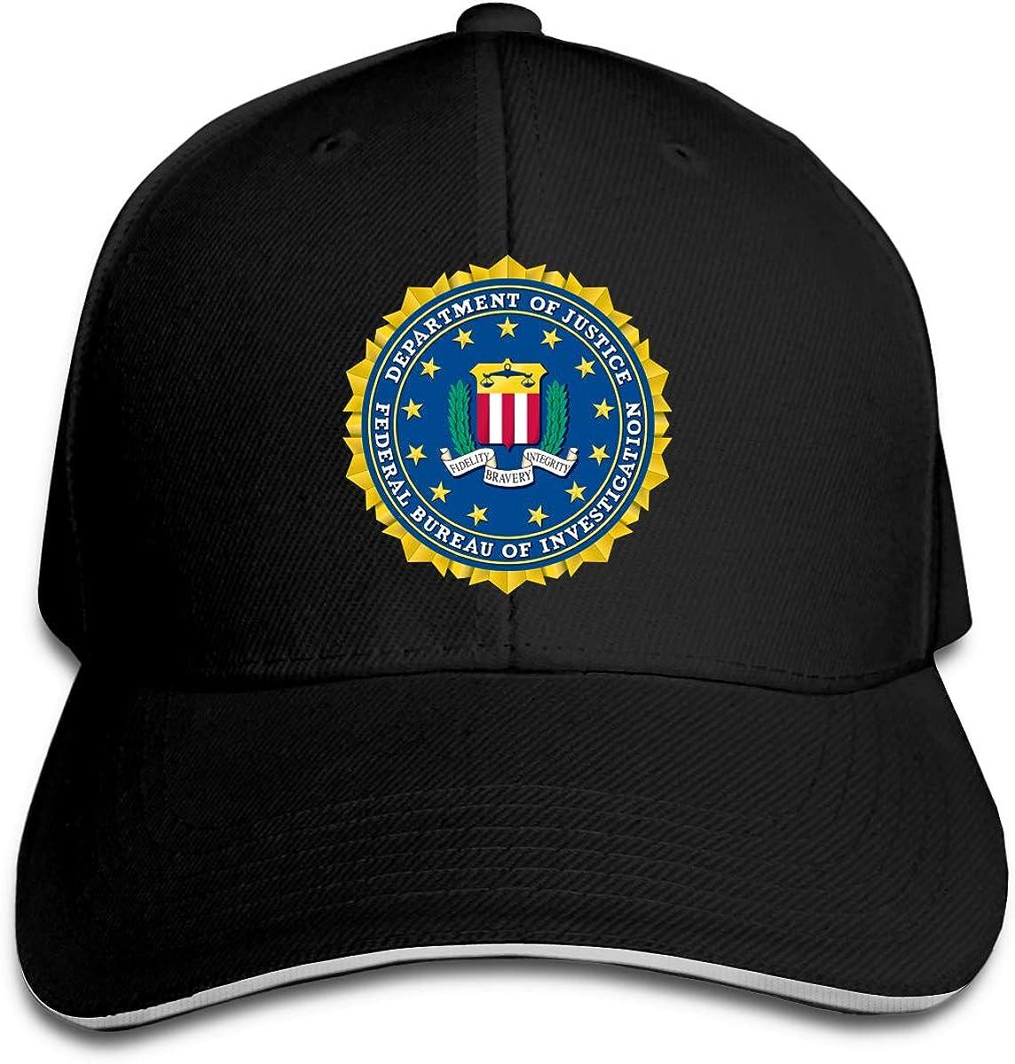 Federal Bureau of Investigation (FBI) Unisex Sandwich Cap Sports Cap