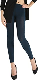 SENSI' Leggings Donna Cachemire Traspirante Senza Cuciture Seamless Made in Italy