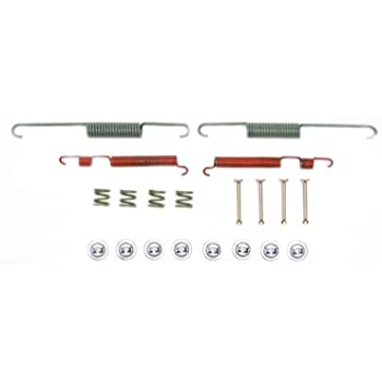 and Retainers Pins ACDelco 18K651 Professional Rear Drum Brake Spring Kit with Springs