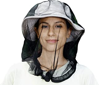 CROC N FROG Mosquito Net Mesh, Finest Holes, Mosquito Netting, Bug Face Shield, Premium Soft Durable Fly Screen, Protection for Any Outdoor Lover, Carry Bag, Safe for Skin