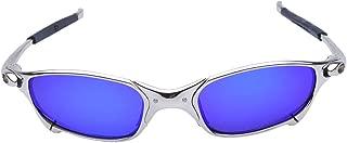 Polarized Cycling Glasses Alloy Frame Sport Riding Bike Goggles Eyewear