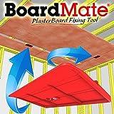 BoardMate - Herramienta de montaje para paneles de yeso, soporta la placa en su lugar mientras se...