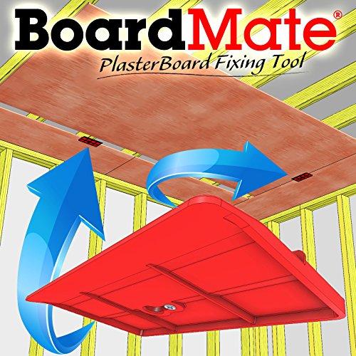BoardMate - Herramienta de montaje para paneles de yeso, soporta la placa en su lugar mientras se instala